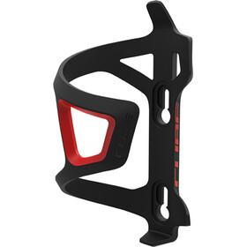Cube HPP-Sidecage Flaschenhalter schwarz/rot